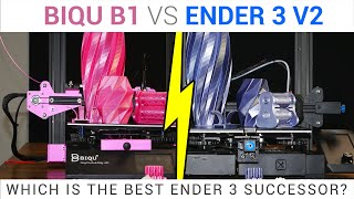 Ender 3 V2 vs BIQU B1 head to head review