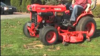 Kubota B7100 Tractor Mower 4WD Diesel For Sale on EBay