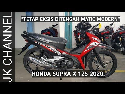 Honda Supra X 125 2019 Review Singkat Dan Harga Youtube