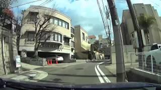 国道428号~異人館街~ANAクラウンプラザホテル神戸