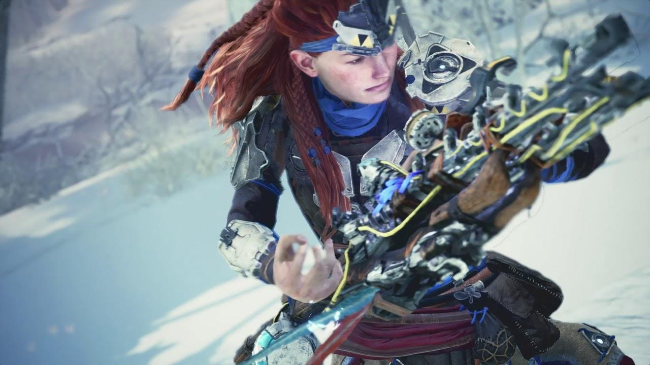 PS4《Monster Hunter World: Iceborne》與《Horizon Zero Dawn: The Frozen Wilds》聯乘合作