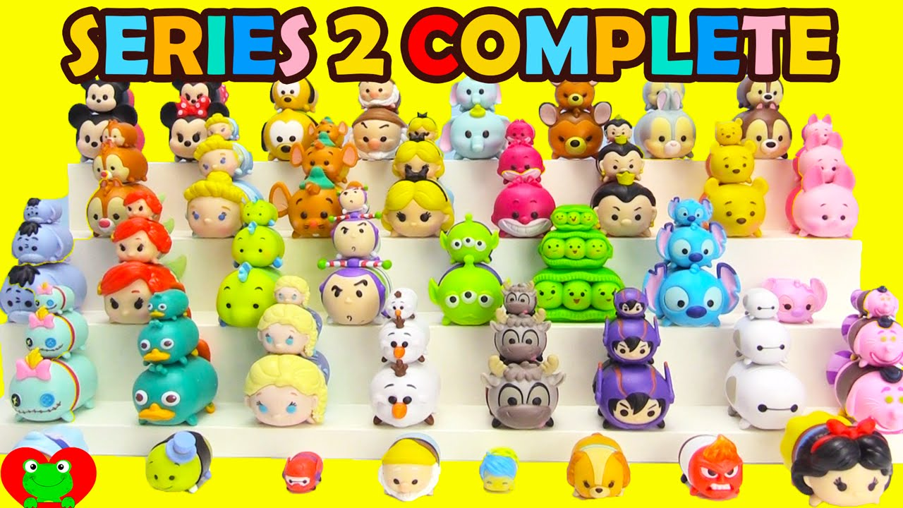 Disney Tsum Tsum Series 2 Stackables Complete Toy Genie