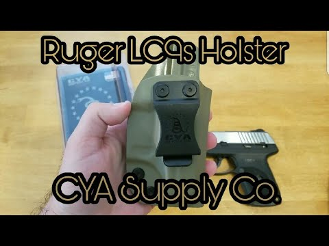 Ruger LC9s Holster Review: CYA Supply Co
