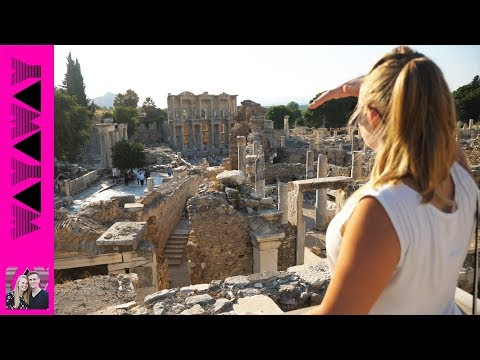 WOW! Ancient Ephesus is incredible! - Travel Turkey Vlog #388