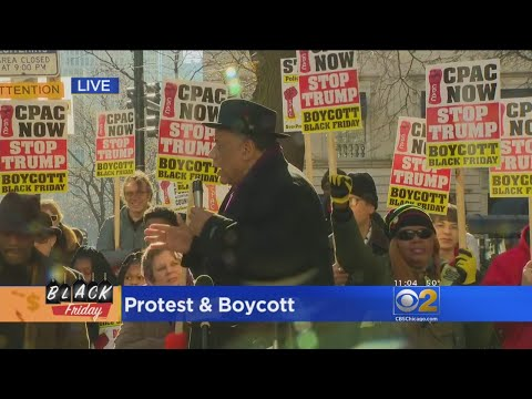 Black Friday Protest and Boycott of Magnificent Mile
