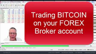 Trading Bitcoin and crypto currencies using your Forex broker compared to a cryptocurrency exchange