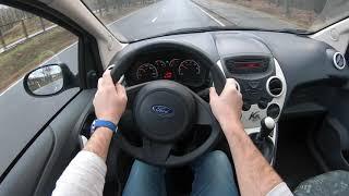 2013 Ford KA 4K _ Test Drive Review /// Форд Ка Тест Драйв Обзор Интерьер Экстерьер
