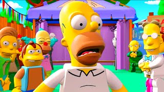 LEGO Dimensions A Springfield Adventure All Cut Scenes & Ending (The Simpsons Level Pack)
