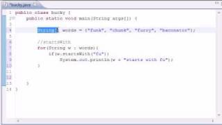 Intermediate Java Tutorial - 1 - Common String Methods