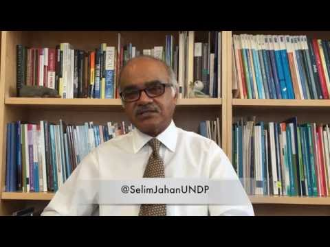 Selim Jahan on Human Development, the 2030 Agenda and the Sustainable Development Goals.