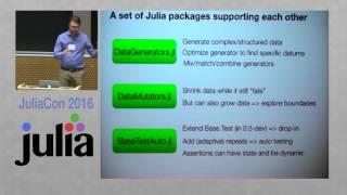 JuliaCon 2016 | Finding Julia Bugs Automatically | Robert Feldt