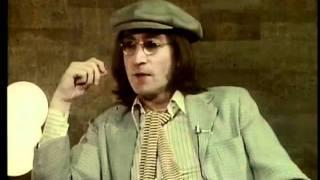 JOHN LENNON talks of BEATLES Reunion 1975!
