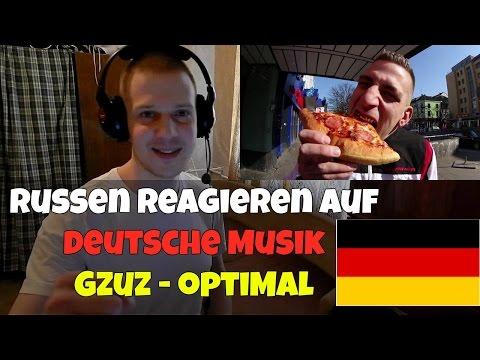 RUSSIANS REACT TO GERMAN RAP | GZUZ - OPTIMAL | REACTION TO GERMAN RAP