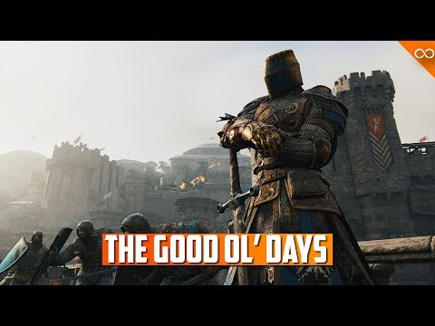 """The """"Good Old Days"""" of For Honor 