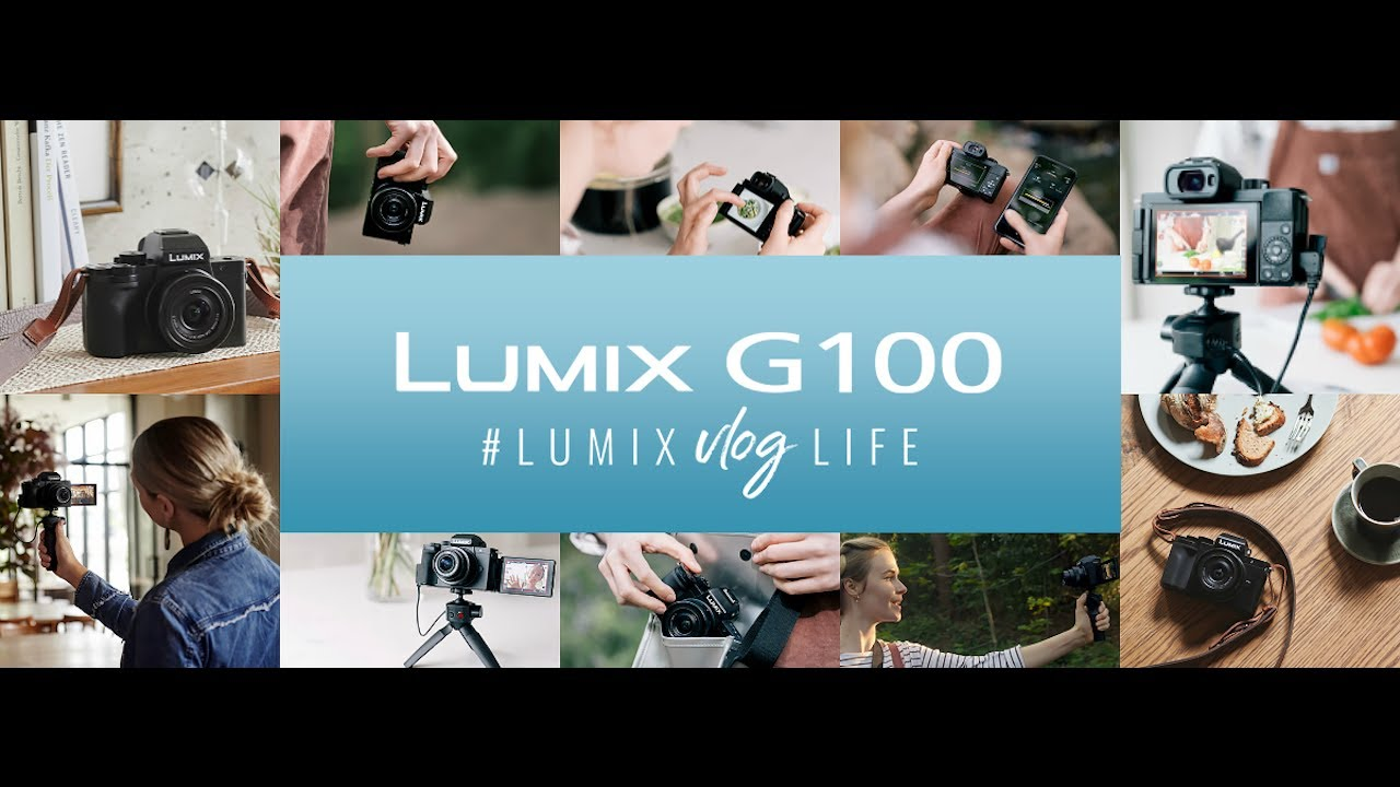 Lumix G100: video HD oficial de presentación - Mirrorless camera for vloggers