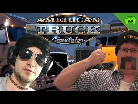 USCHI VS PITT 🎮 American Truck Simulator #3