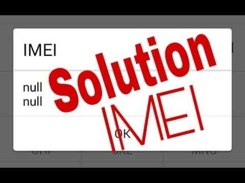 how to change imei number with root