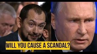 OUCH: Ukrainian Journalist Gets Put in his Place by Putin.. About his Own Country