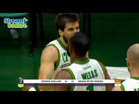 02.12.2017  Legabasket  AVELLINO - VENEZIA  87 - 77 dts