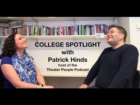 College Spotlight: Patrick Hinds and Emerson College