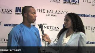 Dominique Harris Interviews Sebastian Telfair @ Impact Basketball