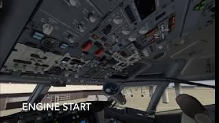 Full XP11 VR flight, fully loaded (ZIBO 737+P2ATC+WT3+FO(MCE)+AviTab+XEnviro)=Total fun