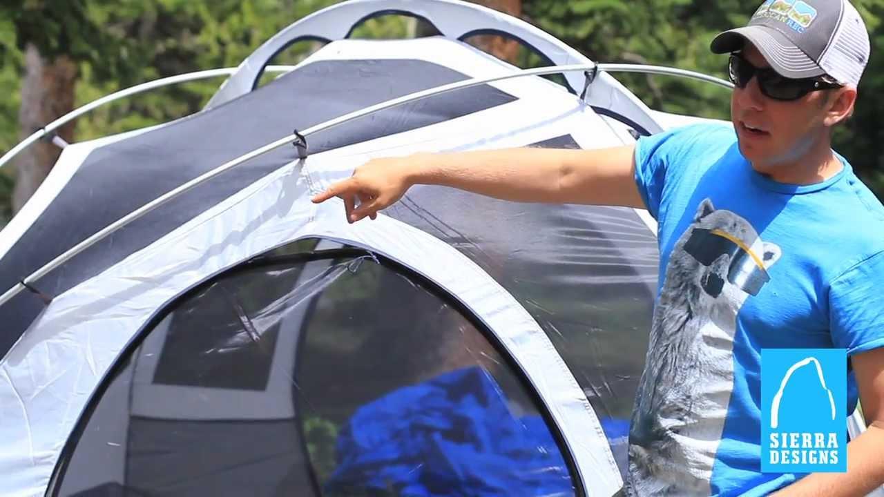 Sierra Designs Tents Meteor Light 4 Amp 6 Youtube