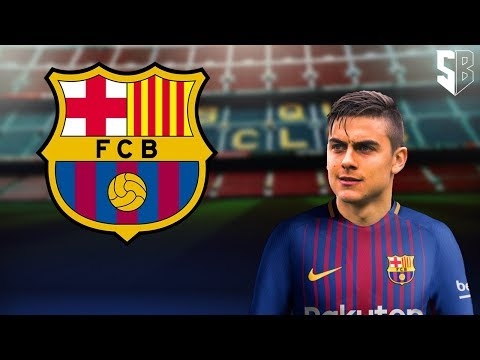 Paulo Dybala - Welcome to FC Barcelona