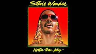 Stevie Wonder - Hotter Than July (Side 1) - 1980 - 33 RPM
