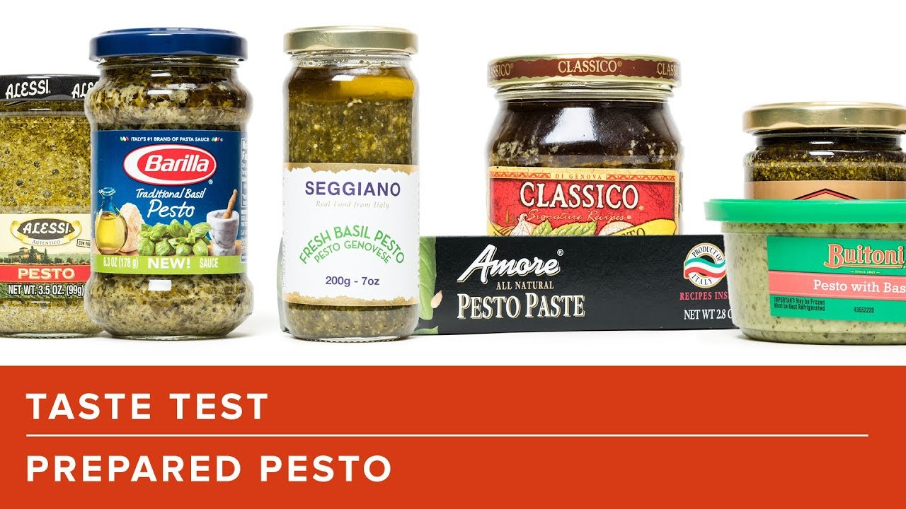 How To Pick The Best Store Bought Prepared Pesto Youtube