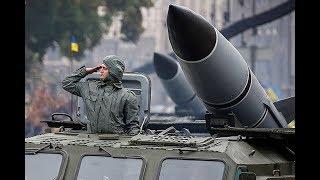 Парад войск Украины в Киеве, с ветеранами АТО 2017 (под музику)