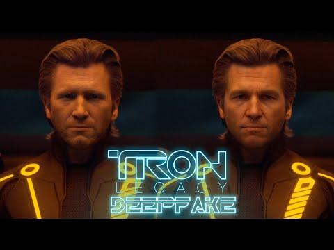 Improving Tron Legacy using Deep Fakes
