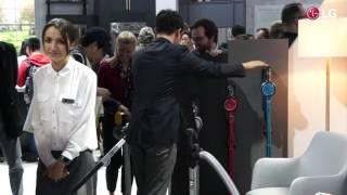CES 2017: Die neuen LG CordZero-Staubsauger