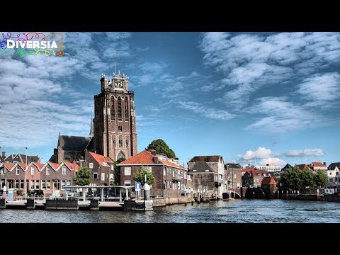 DORDRECHT CITY TRIP - THE OLDEST TOWN IN HOLLAND - HISTORIC CENTRE TOURIST TOUR