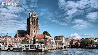 DORDRECHT CITY TRIP - THE OLDEST CITY IN HOLLAND - HISTORIC CENTRE TOURIST TOUR