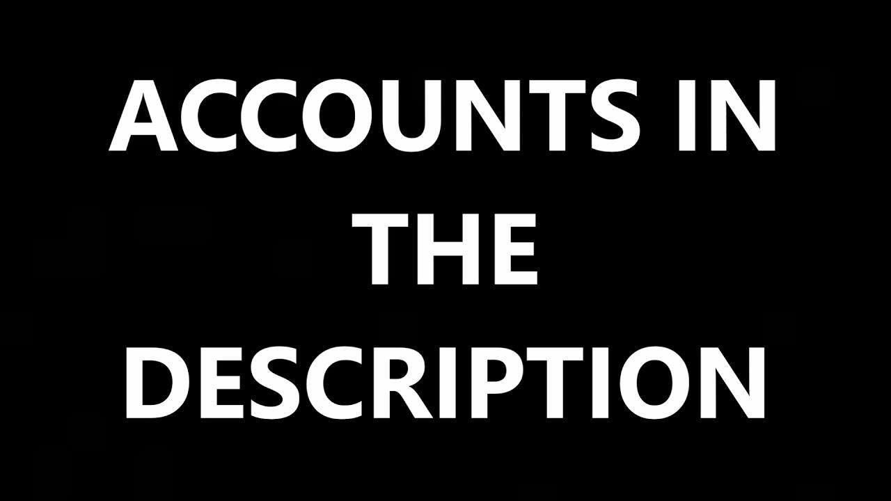 Free minecraft account list pastebin