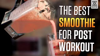 Best Post Work Out Smoothie   Healthy Breakfast Idea