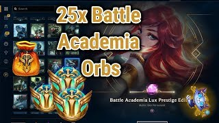 25x Battle Academia 2019 Orb Opening (Grab Bag) - League of Legends