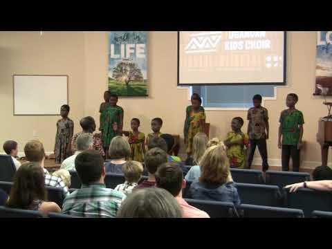 Ugandan Kids Choir - 7 October 2018 - New Life Baptist Church