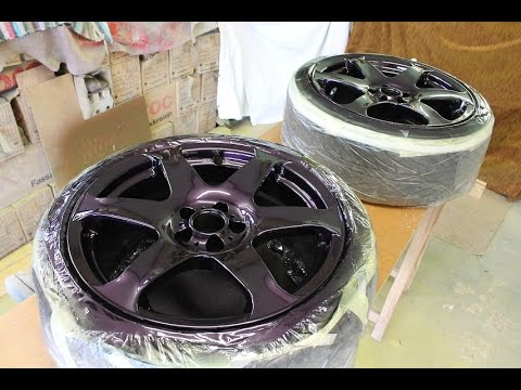 How to paint your car wheels diy painting project youtube for Diy rim painting