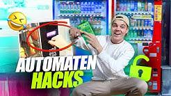 ich teste Automaten HACKS, die ILLEGAL sein sollten.