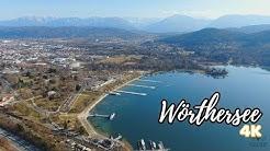Blick über den Wörthersee, Klagenfurt | Drohne Mavic Zoom [4K]