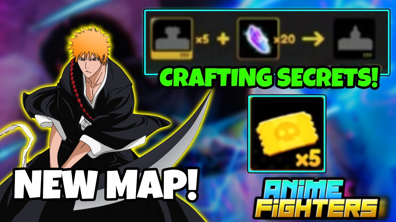 Download Anime Fighters Simulator Update 7 Leaks! Boss Raid, Secrets Crafting, New Map Revealed and More!