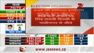 Delhi Assembly polls: AAP's Shazia Ilmi loses to BJP's Anil Sharma