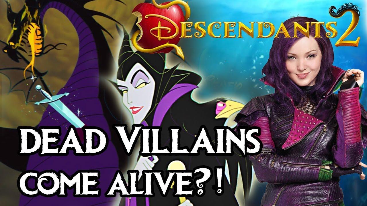 Descendants 2 How Did Maleficent Ursula And The Evil Queen Come Alive In Disney Descendants