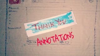 Annotations are going away !!!  ☹