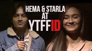 HEMA (Jefri Nichol) & STARLA (Caitlin Halderman) LIVE @ YouTube FanFest