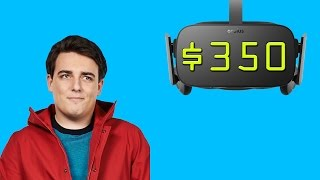 The Oculus Rift Will Cost