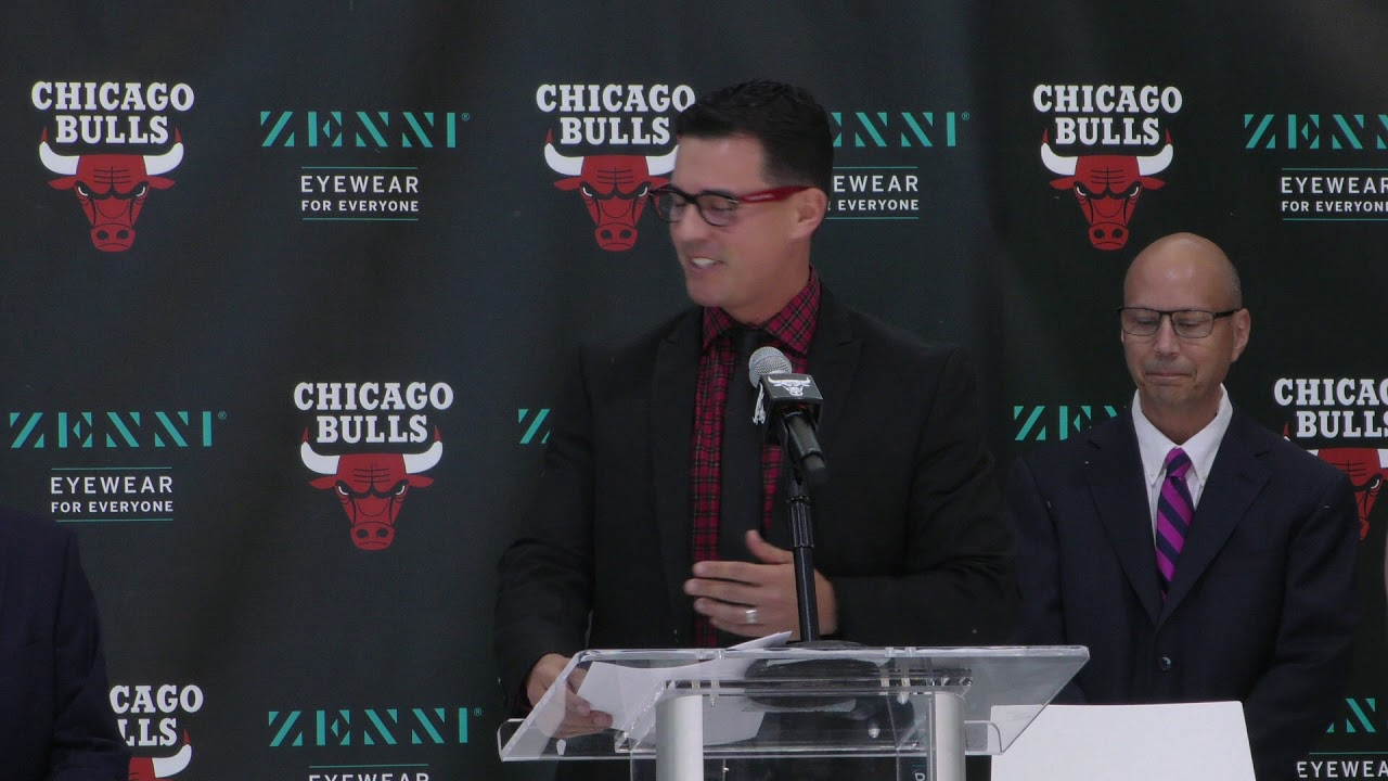 newest a7b15 6ae89 #TheBIGStv Bulls Introduce ZENNI OPTICAL as First-Ever Jersey Patch Partner