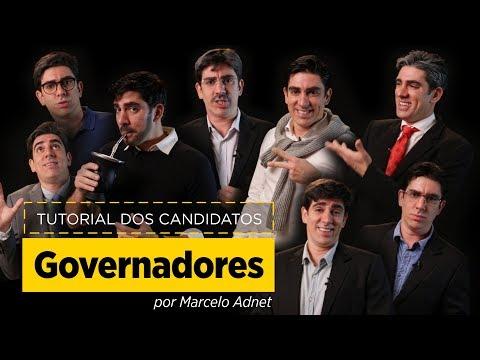 Marcelo Adnet imita Doria, Witzel, Zema, Eduardo Leite, França, Paes, Anastasia e Sartori